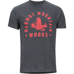 Marmot Chordata SS Tee Men charcoal heather